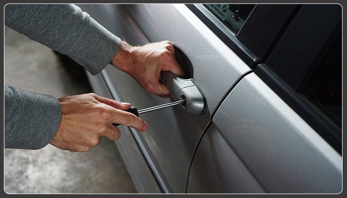 Are higher car crime rates due to keyless locks?